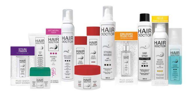 Professionelle Haarpflege- und Stylingprodukte mit Wirkstoff-Formel
