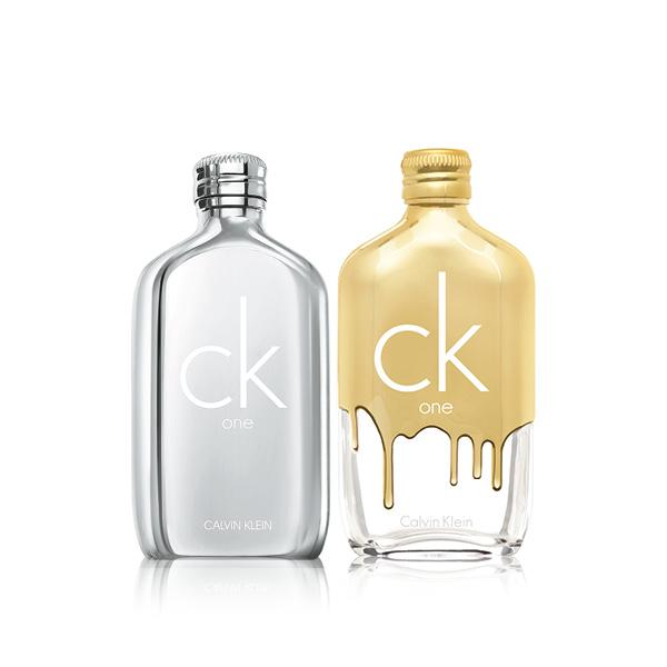 CK ONE PLATINUM UND CK ONE GOLD
