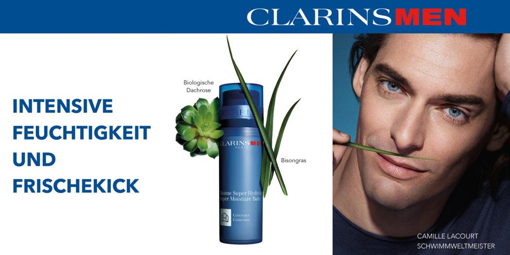 Clarins Men – Parfumerien mit Persönlichkeit